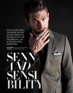 Adam Senn by Mitchell Nguyen McCormack Da Man Magazine, February March 2016