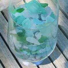 Collecting Seaglass For Hours