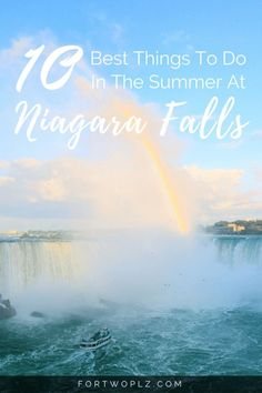 Travel Canada | Niagara Falls | Ontario | Summer Guide | Best Things to Do | Top Activities