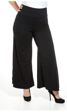 Gauchos  plus size fashion