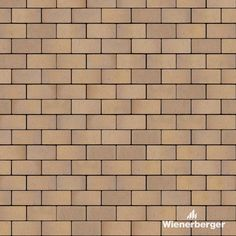 """Ready to use texture of the Wienerberger clay paver """"Cottbus"""" layed in therunning bond. Get yours on our German website. Clay Pavers, Bond, German, Texture, Website, Deutsch, Surface Finish, German Language"""
