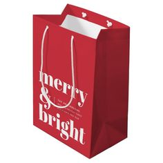 Minimalist Christmas, Modern Christmas, Retro Christmas, Be My Valentine, Valentine Gifts, Retro Typography, Paper Gift Bags, Customizable Gifts, Christmas Gift Tags