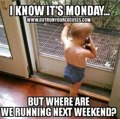this is so me...all weekends booked with races #marathonrunning