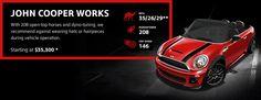MINI Cooper Convertible  - John Cooper Works #MINIbaltimore #jcworks