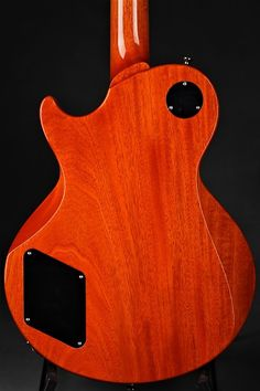 2017 Collings City Limits Custom Deluxe Trans Orange Electric Guitar - Back