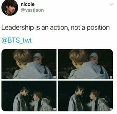 Awe poor Taehyung. And can we just talk about how good of a leader Namjoon is like I can't handle this he was so good with Jungkook too when he had his problem I can't even-
