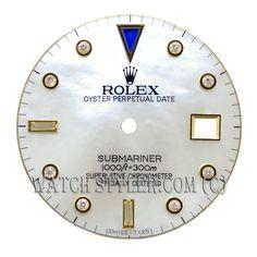 Custom Rolex Diamond Dial