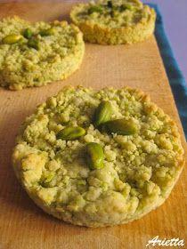 muffins, cookies e altri pasticci: Sbrisolona salata pistacchi e parmigiano