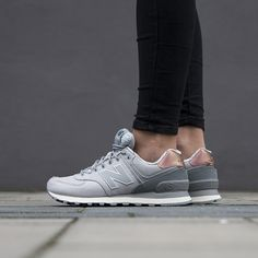 Women#39;s Shoes sneakers New Balance quot;Rose Gold Packquot; WL574AEA