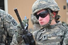 Soldado mulher. USA.
