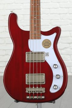 Epiphone Embassy Pro Bass - Dark Cherry image 1