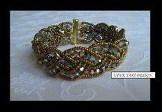 Bead weaving   Bracelet - bead weaving   Beaded Bracelets