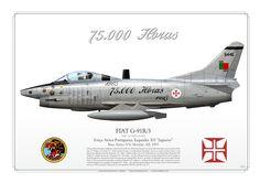 "PORTUGUESE AIR FORCE . Força Aérea PortuguesaEsquadra 301 ""Jaguares"".Base Aérea N°6. Montijo AB. 1993""1965 - 1993 75.000 Horas"" Air Force Aircraft, Fighter Aircraft, Fighter Jets, Military Jets, Military Aircraft, War Thunder, Modeling Tips, Aircraft Design, Aviation Art"