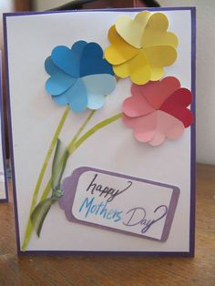 45 DIY Mother's Day Cards to show your LOVE! - Pink Lover Mother's Day Cards . 45 DIY Mother's Day Cards to show your LOVE! - Pink Lover Mother's Day Cards for Teens These samples would require olde Kids Crafts, Mothers Day Crafts For Kids, Mothers Day Cards, Happy Mothers, Easy Crafts, Mother Card, Mother Day Gifts, Easy Diy, Paint Chip Cards