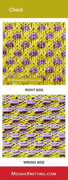 how to knit written instructions
