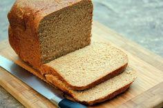 Bread Machine: Whole Wheat Honey Bread
