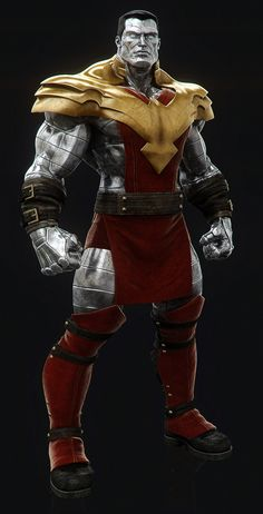 Colossus...it's like a Mortal Kombat outfit though, I dig it
