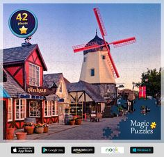 Holland. I've just solved this puzzle in the Magic Jigsaw Puzzles app for iPad. Try it too!