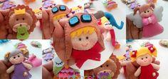Pilot Çocuk Magnet Keçe Bebek Şekeri