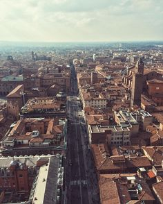 After climbing 498 stairs we got to the top of the third biggest tower in Italy! Bologna you rock!