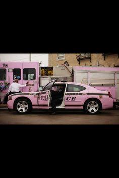 Pink Police Car:)  ROBBBBBBBBBINNNNNNNNNN