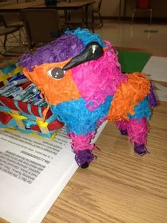 Pepe the prepositional piñata