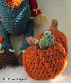 Ravelry: Cute Pumpkin pattern by Teri Crews