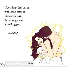 I know what peace feels like you are the right one.wgen i dont feel good physically.my intuition says this deep throat issue doesnt leave-.had it 6 days Couple Quotes, Me Quotes, Qoutes, Sexy Couple, Wrong Person, Angst, Love And Marriage, Poetry Quotes, Cute Love
