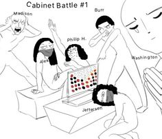 Actual photo from Cabinet Battle #1