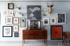 Hanging Artwork 101  - ELLEDecor.com