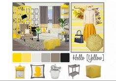 Hello [YELLOW] by Jane Gianarelli by janegianarelli | Olioboard