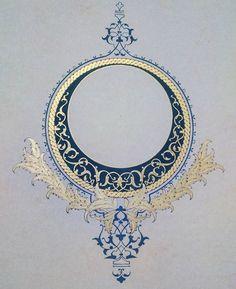 Motifs Islamiques, Islamic Motifs, Islamic Art Pattern, Arabic Pattern, Pattern Art, Motifs Art Nouveau, Gothic Pattern, Illumination Art, Iranian Art