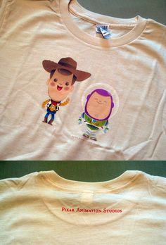 I want this... so... bad... T-shirt design by Jerrod Maruyama. Only available at the Pixar studio store.