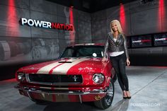 Check out Courtney, oh and yes the Mustang too!
