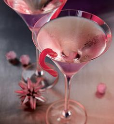 Recipes from The Nest - Candy Cane Martini