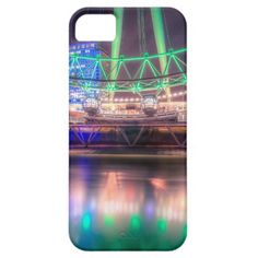 The London Eye on St. Patrick's Day iPhone 5/5S Cases
