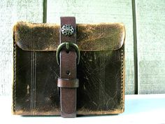 Vintage Leather Camera Case / Up-cycled / by VintageAccentsStudio