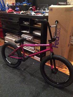 Volume Vessal V1 Custom painted and Built BMX Bike