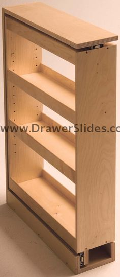 Slide out bathroom storage brilliant! Ends under cabinet clutter!