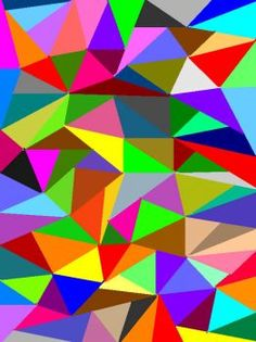 Solve Paint Triangles. jigsaw puzzle online with 130 pieces