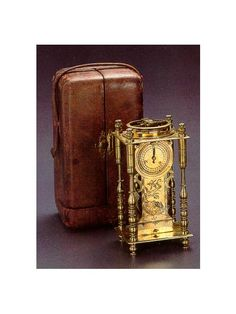Antique Japanese Shelf Clock