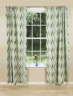 Modern curtains & drapes for every window in your home. Searching for contemporary chic or trendy and upbeat? Wave Curtains, Mid Century Modern Curtains, Contemporary Curtains, Best Sites, Kitchen Curtains, Interior Inspiration, Living Area, Mid-century Modern, Waves