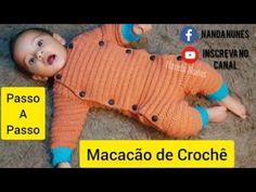 Crochet Baby Clothes Boy, Crochet Bebe, Baby Dress, Baby Kids, Dinosaur Stuffed Animal, Toys, Children, Pattern, Animals