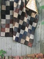Resweater: Recycled wool quilt week - Harvest Textiles