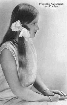 Prinzessin Alexandrine von Preussen, Princess of Prussia | Flickr - Photo Sharing!