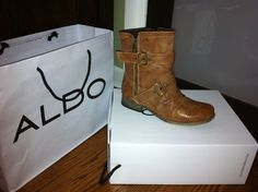 My new ALDO ankle boots <3