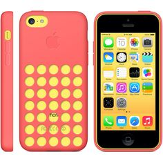 The Best Apple iPhone 5c Cases per PC Mag 11/6/13. I have a blue phone with a yellow bubble case!