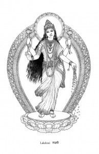 The Goddess Lakshmi PRINT LOW RES