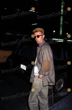 David Bowie in New York City 10/10/1996 Photo by Henry Mcgee/Globe Photos