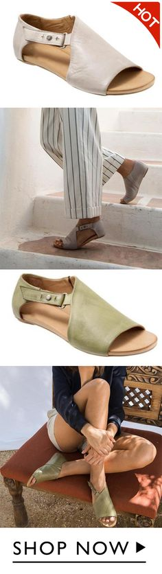1000+ bought, hot sale! 54% off, JellyNova Women Open Toe Closed Back Sandal Shoes